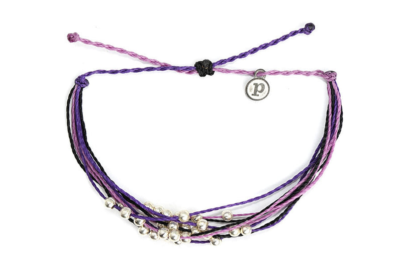 Platinum Anti-Domestic Violence Bracelet