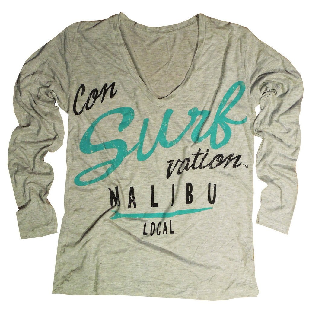 Consurfvation Malibu Local Long Sleeve Tee