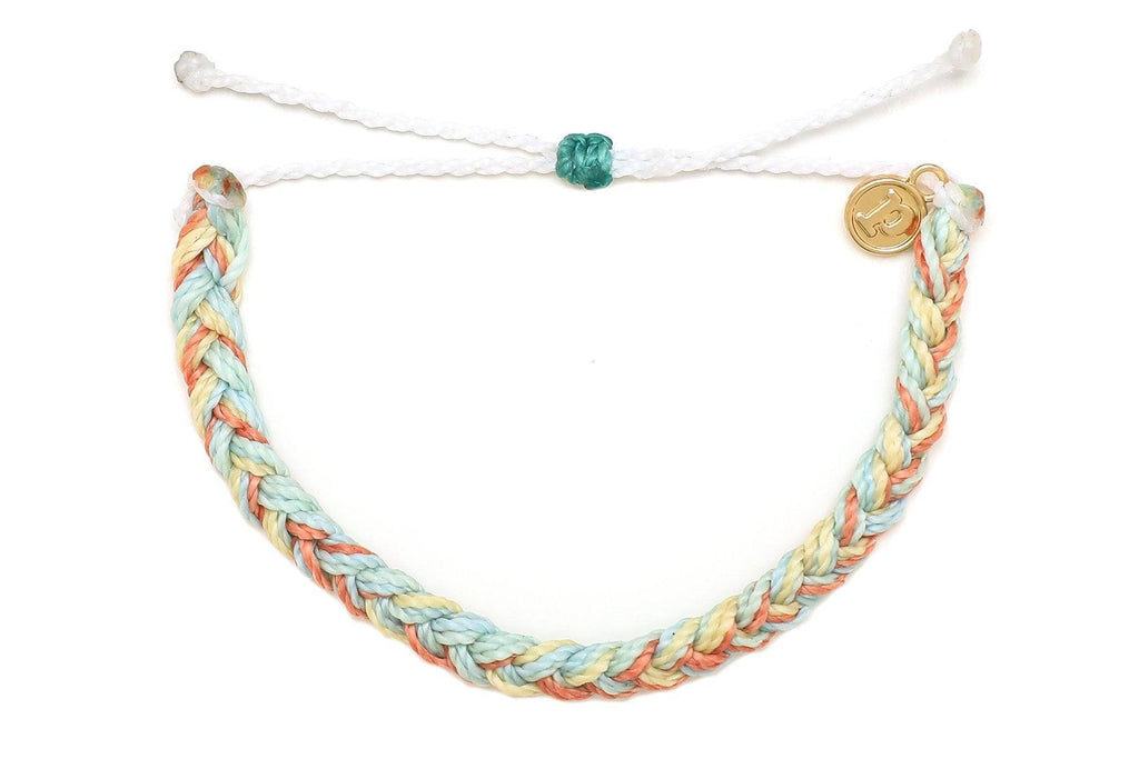 Braided Bracelet in Pacific Sunrise
