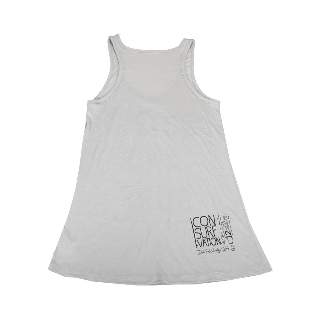 Consurfvation Open Neck Flowy Tank - Protect and Surf