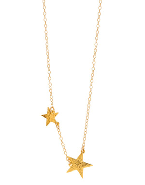 Super Star Necklace - Gold