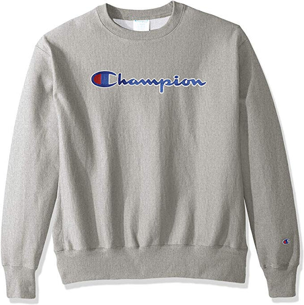 CHAMPION MEN'S REVERSE WEAVE CHAIN STITCH SCRIPT LOGO