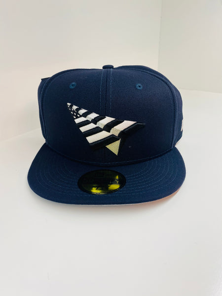 PAPER PLANES FITTED - NAVY W/ GREY BOTTOM