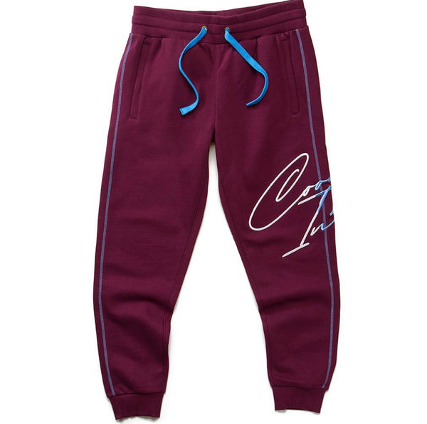 COOKIES FLIP THE SCRIPT SWEATPANTS MAROON