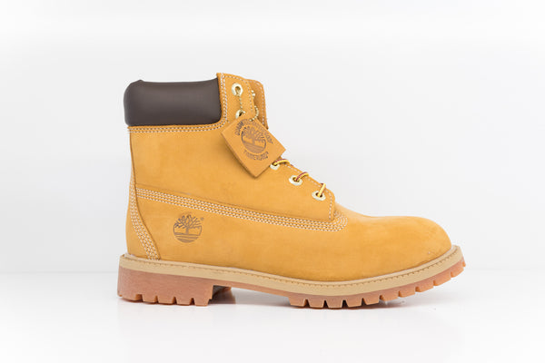 TIMBERLAND 6 INCH PREMIUM WHEAT NUBUCK JUNIOR