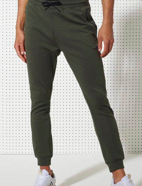 SUPERDRY GYMTECH ARMY KHAKI PANTS