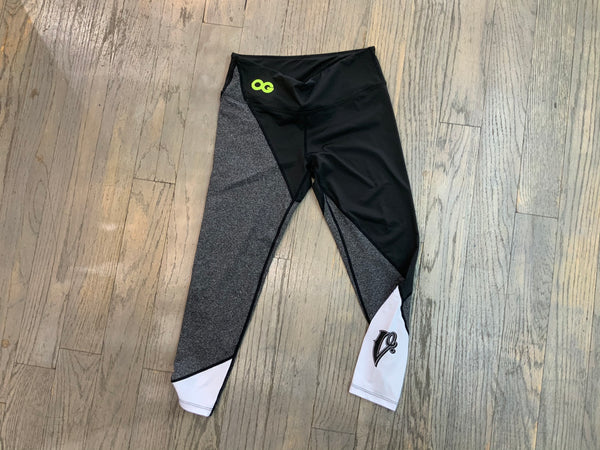 OG LEGGINGS BLK/GRY