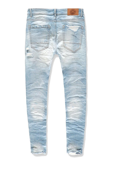 JORDAN CRAIG CRUSHED ICE BLUE JEANS