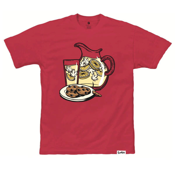 COOKIES REFRESHING RED TEE