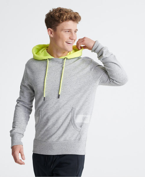 SUPERDRY CITY NEON MICRO HIT HOODIE