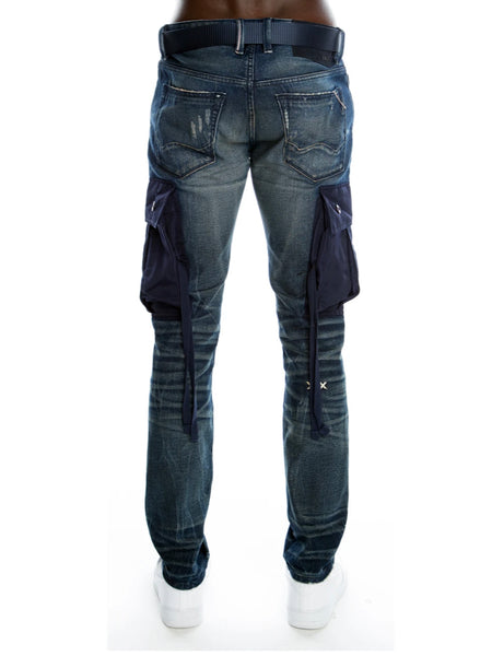 CULT ROCKER BELTED SYNC JEANS