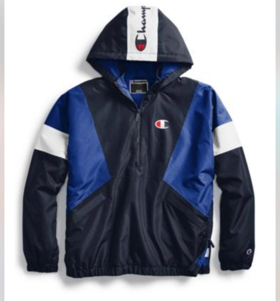 Champion Pullover Blue Jacket