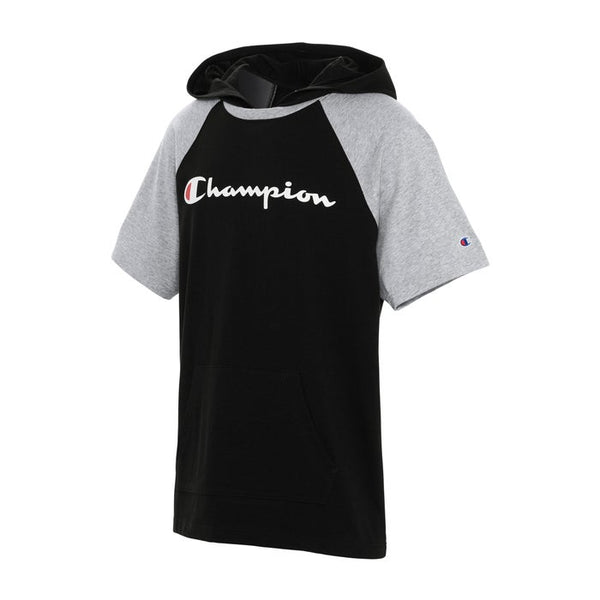 CHAMPION MIDDLEWEIGHT SHORT SLEEVE HOODIE