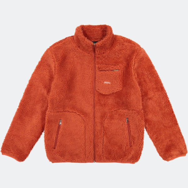 QILO POLAR SHERPA FLEECE JACKET