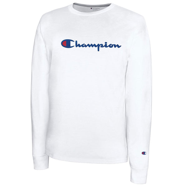 CHAMPIONS MEN CLASSIC JERSEY LONG SLEEVE TEE