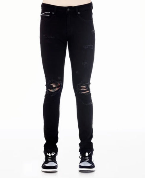 CULT OF INDIVIDUALITY BLACK INK JEANS