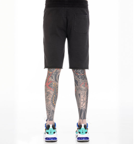 CULT OF INDIVIDUALITY BLK SWEAT SHORTS