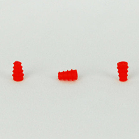 Sanibel 3-5mm Red Flanged Eartips (100)