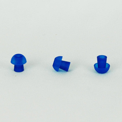 Sanibel 11mm Blue Mushroom Eartips (100)