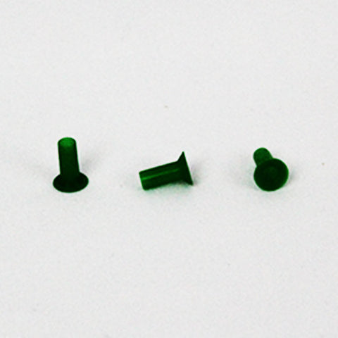 Sanibel Preemie Green Flat Eartips (100)