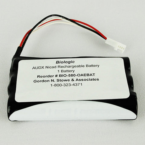 NiCad Rechargeable Battery; 7.2V, 1.sAh (1)