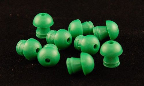 Grason KR Series Clinical 14mm Green Eartips (100)