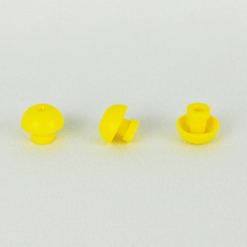 Grason GS Series 16mm Yellow Eartips (100)