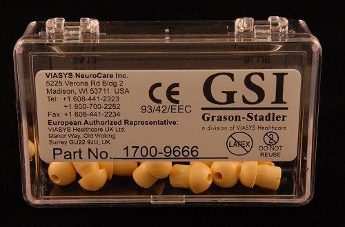 GSI 12mm Yellow Eartips (12)