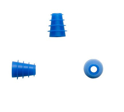 Sanibel 4-7mm Blue Flanged Eartips (100)