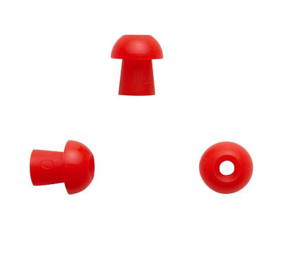 Sanibel 10mm Red Mushroom Eartips (100)