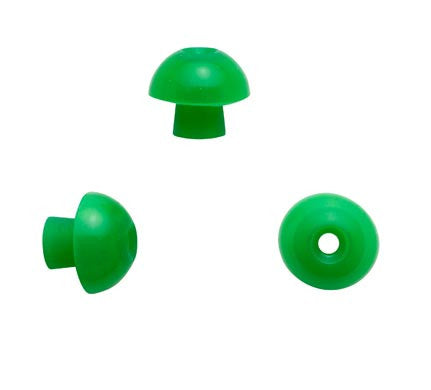 Sanibel 13mm Green Mushroom Eartips (100)