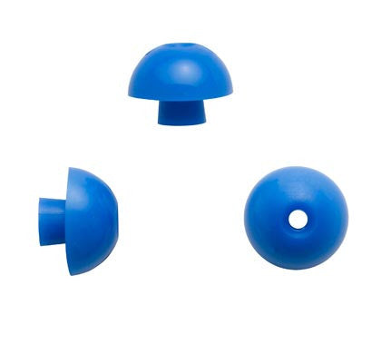 Sanibel 15mm Blue Mushroom Eartips (100)