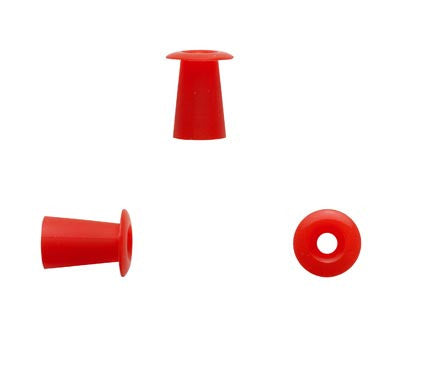 Sanibel 9mm Red Umbrella Eartips (100)