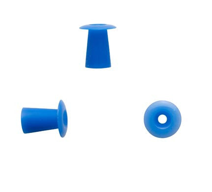 Sanibel 10mm Blue Umbrella Eartips (100)