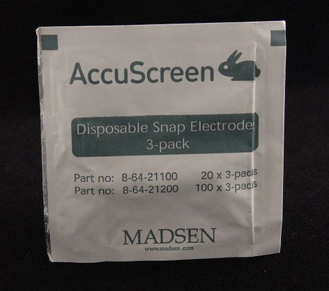 AccuScreen ABR Disposable Snap Electrodes (300)