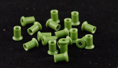 Madsen® 6.5mm Green Eartips (50)
