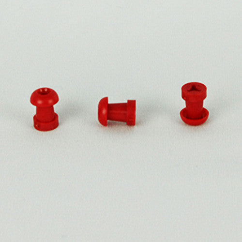 Grason  MO Series 10mm Red Eartips (100)