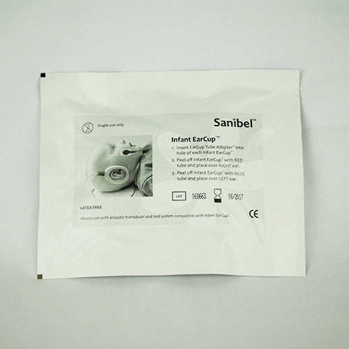 Sanibel Infant EarCup Kit with Tab Electrodes (20 Sets)