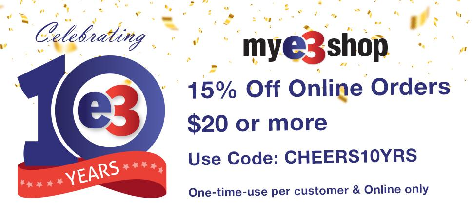 $15 off with code!