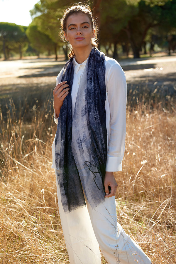 Evening Haze Mono Scarf