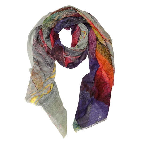 Evening Winter Scape Scarf
