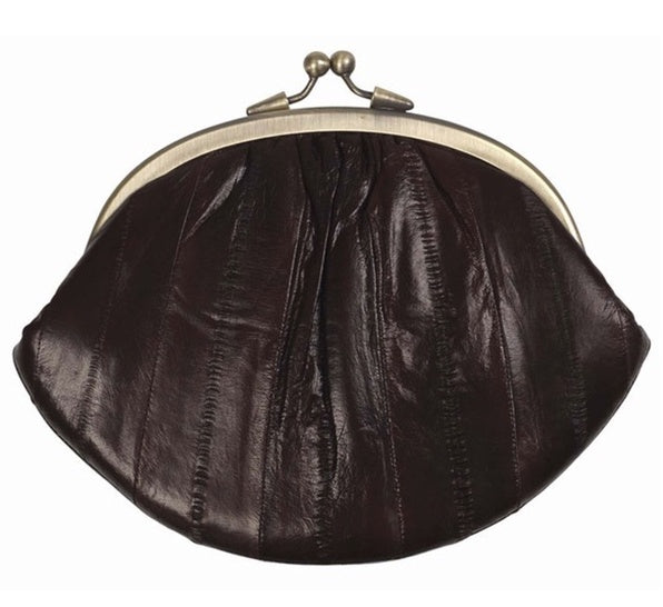Granny Purse - Chocolate Brown