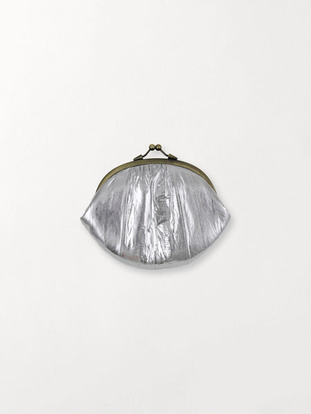 Metallic Granny Purse - Silver