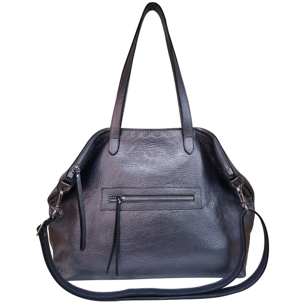 Calton Bag - Gun Metal