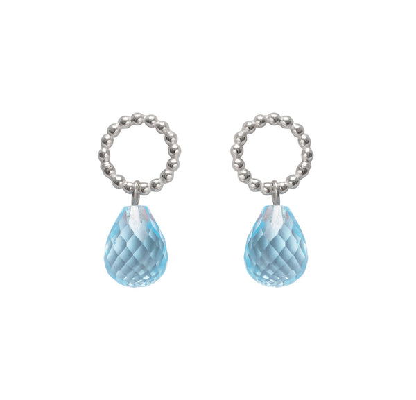 Beaded Drops - Topaz