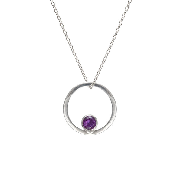 Ember Necklace - Amethyst