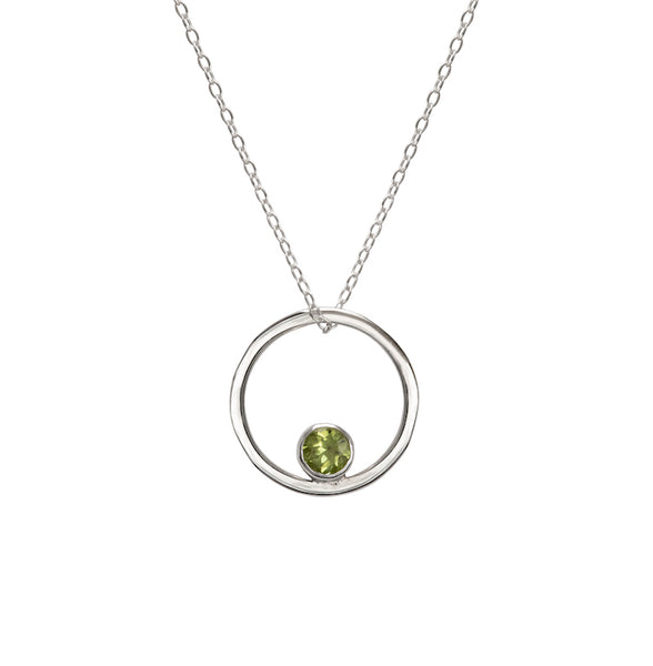 Peridot Ember Necklace