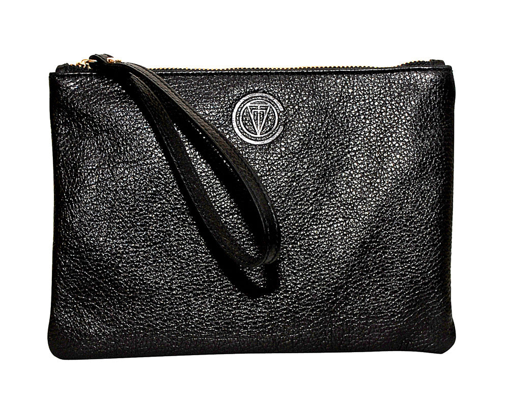 Essential Clutch - Luxe Black