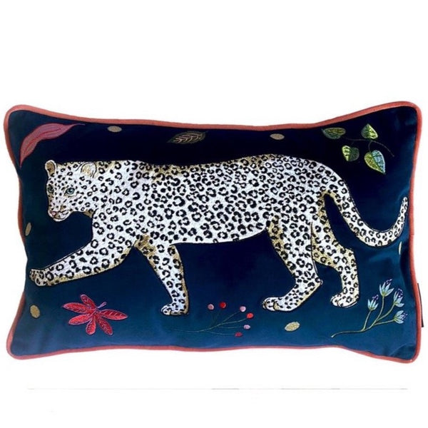 Leopard Cushion Cover - Left