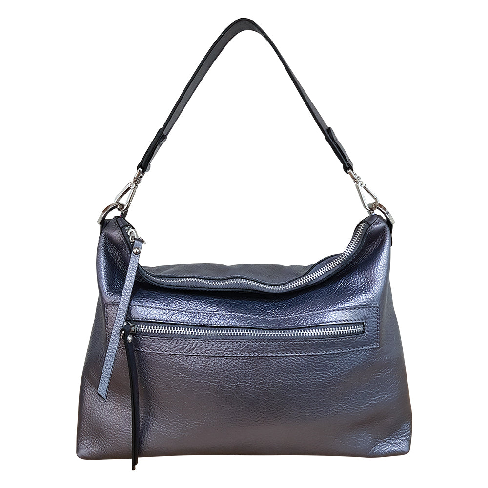 New Town Bag - Gun Metal